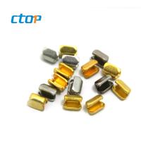Manufacturer Factory Price Low Brass H Shape Metal Bag Accessories Zipper Pulls For Garment Zipper Stopper