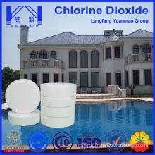 Échantillons gratuits de chlore de piscine