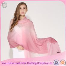 Usine meilleur qualité nouveau style châles pashmina kashmir pour les femmes