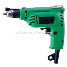 India Hot Selling 6.5mm / 10mm mano 230w mano manual de perforación mini máquina de perforación portátil eléctrica