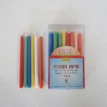 Judaica-Kerzen auf Fackeln