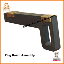 Drilling Mud Pump Fluid End Flash Board