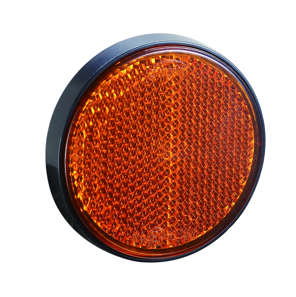 High quality E4 UV PC Trailer Round Reflectors
