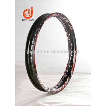 borda da roda de liga de motocicleta anodizado para vendas