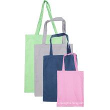 Reusable eco custom logo size cotton tote bag