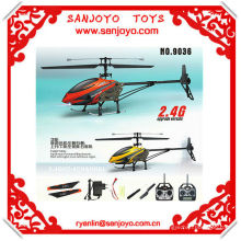 Flying camera helicopter 4ch rc helicopter with gyro 2.4G single blade