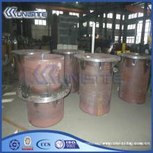 Personalizado tubo de desgaste grueso resistente para el dragado (USC7-002)