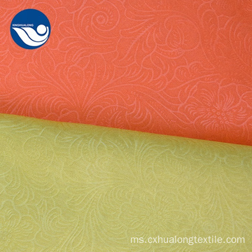 Colorful dicetak 100% poliester Mini Matt Fabric