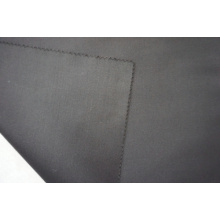 Black Satin Weave for Suit Wool Fabric