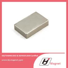 Ímã de NdFeB forte bloco permanente para indústria com grau N52