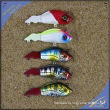 VBL016 8 cm, 7g Pesca de Alta Calidad Tackle Blade Lure VIB Señuelo Plástico Duro Señuelo de la Pesca