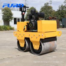 Mini rodillo de asfalto de alta calidad para caminar detrás (FYL-S600C)