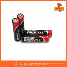 Customizable beautiful printable heat sensitive battery shrink tube for battery collation