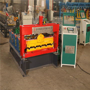 Hot selling arch staal dakplaat gebogen machine