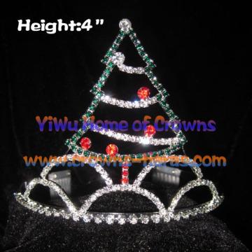 Christmas Tree Shaped Christmas Festival Crowns