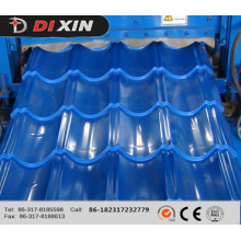 Dx 1100 Roof Panel Glazed Tile Roll Forming Machine
