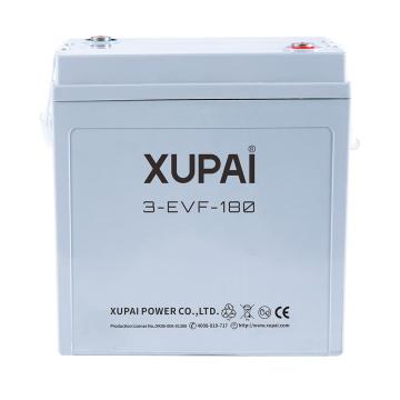 Bateria XUPAI 6V 180AH para carro elétrico de golfe