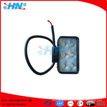 18W LED Flood Square Working Lamp For SUV Car Boat ATV Offroad Truck Forklift
