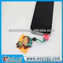 2013 OEM soft PVC dust plug for promotional gift