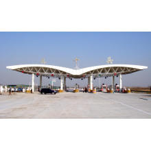 Steel Structure Space Frame Construction Building Toll Station