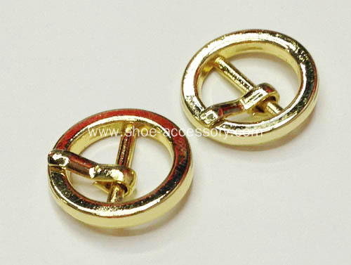 10mm Gold Pin Buckle, Gadget Buckles for Shoes