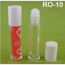 Recipiente e garrafa de brilho labial