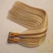 Remy cutícula I extensões de cabelo