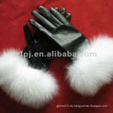 Sex Mode Eleganz Stile Leder Handschuhe