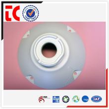 Capa de câmera de alumínio feita sob encomenda branca fundição de alumínio
