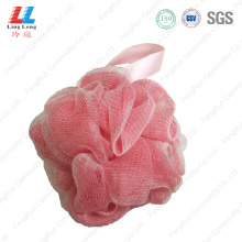 Double mesh massage bath ball