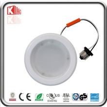 ETL Es Listado 4 Pulgadas 6 pulgadas regulable LED Downlight