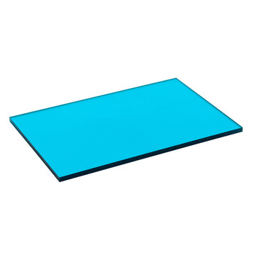 Feuille de polycarbonate solide transparente enduite UV NILIN