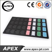 Acryl Tablett für Rechteck Baccara Chip