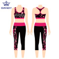 Sublimation jubeln Workout-Outfits