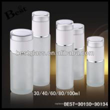 100 мл матовое стекло поставщик косметическая бутылка, косметическая стеклянная бутылка, уход за кожей стеклянная бутылка лосьона