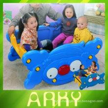 Dual-purpose Children's Plastic Rocking Toy