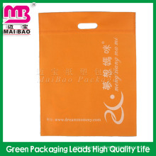 Saco cortados não tecido do material eco-amigável da alta qualidade para a embalagem de pano por atacado