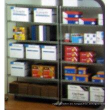 DIY Chrome Warehouse Almacenamiento Rack de estantería de alambre de metal (HD214263A6CW)