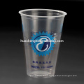 Custom Take Away 17oz Clear Printing Disposable Plastic Cup