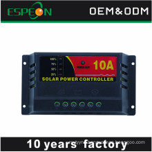 cheap price LDE display solar charge controller 5a 10a