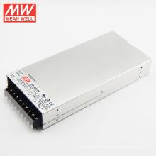 Com PFC MEANWELL 24Vdc 20a fonte de alimentação de comutação 22A no máximo de saída única UL / CUL TUV CE CB SP-480-24