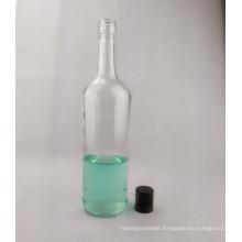 750ml Empty Wine Glass Liquor Bottle with Aluminum Cap