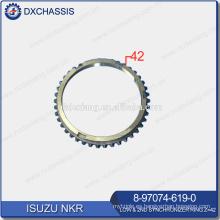 Genuine NHR / NKR Transmission Low & 2ND Ring Sincronizador Z = 42 8-97074-619-0