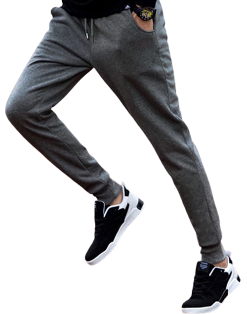 Mens Thicken Sports Pants