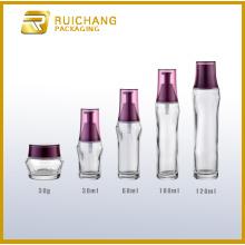 Glass jars and bottles sets