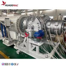 Machine de moulage par extrusion de tuyaux en plastique PP PE PVC
