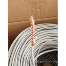 24AWG Cat5e SFTP Blinded Ethernet Bulk Cable en 1000FT Roll