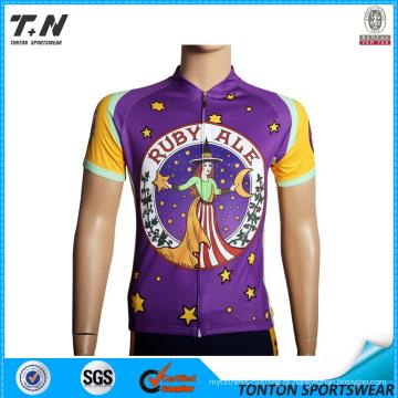 2015 Atacado China Custom Cycling Jersey Fabricante