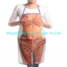 delantales de cocina promocionales de alta calidad, delantales conjunto super suave