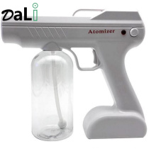 Rechargeable Battery Disinfection Machine Gun Portable Sprayer Fogger Wireless Nano Blue Ray Atomizer Humidifier